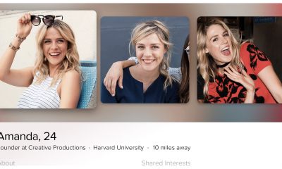 Tinder for Apple TV